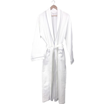 Picture of White Waffle Robe